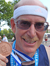 Ken with his miracle medal