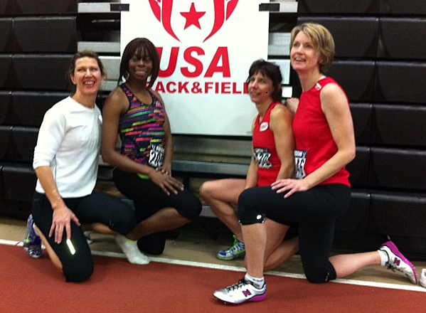 From left are Sarah Lawson, Latrica Dendy, Diane Pomeroy and Beth Clark.
