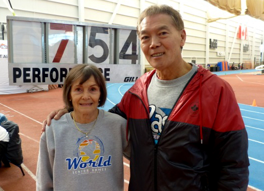 Besides being gifted, Christa has advantage of being coached by Harold Morioka.