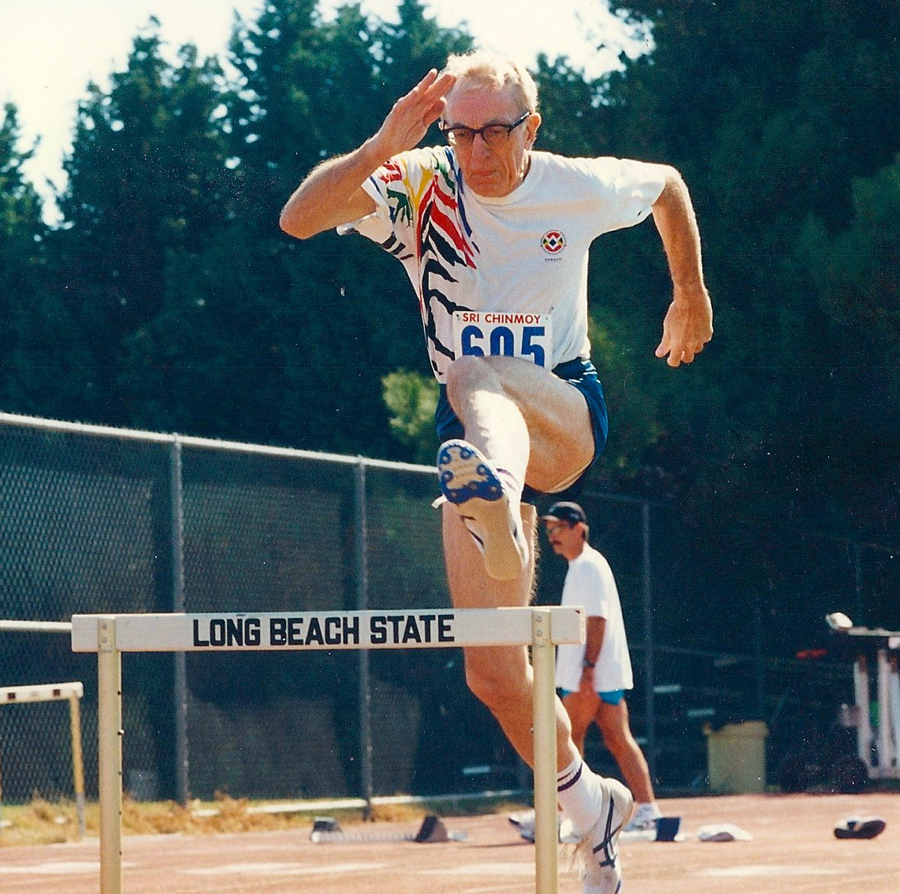 Al ran hurdles at Long Beach State in the late 1990s and last competed in 2006.