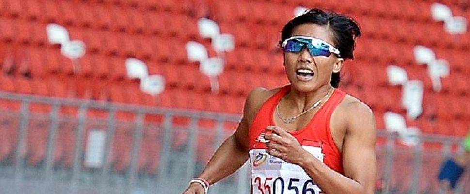 Indonesia's Dedeh Erawati is a W35 stud, but has work to make the 13.0 qualifying standard for Rio.