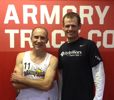 Brad (left) and Nick both set M45 WRs at Armory.