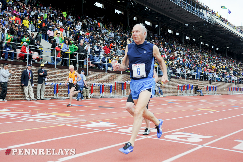 Dick ran at 2014 Penn Relays — two years after revealing his battle with Parkinson's disease.