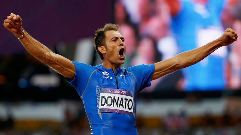 Fabrizio won triple-jump bronze at London Games.