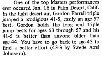 How the M55 record was reported in 1975.