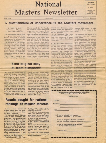 First issue of NMN.