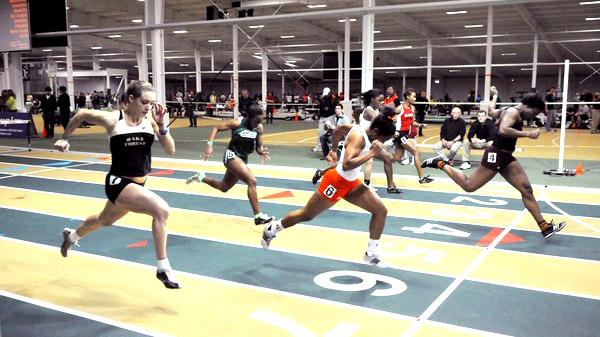Kiddies make good use of JDL Fast Track in Winston-Salem, site of 2015 indoor nationals.
