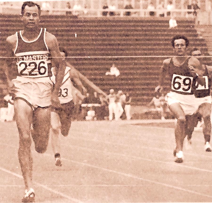 Jack (left) won many races  during the 1972 USMITT tour of Europe.