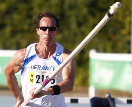 Jean-Luc in recent vault competiton.