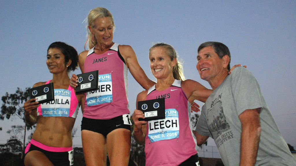 Top women were Tania Fischer, Grace Padilla and Kirsten Leech.