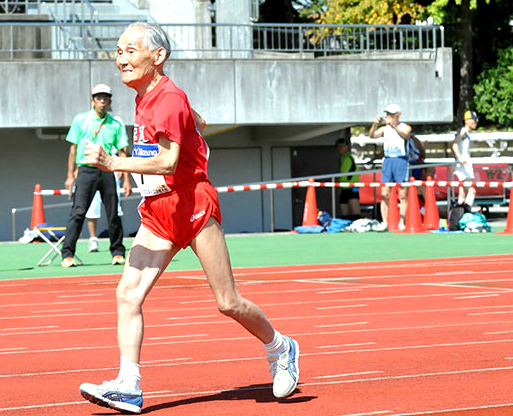 Hidekichi is gunning for a showdown with Bolt and a nonexistent record.