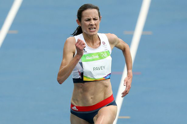 "Joanne ""Jo"" Pavey kicked in during Rio 10,000"