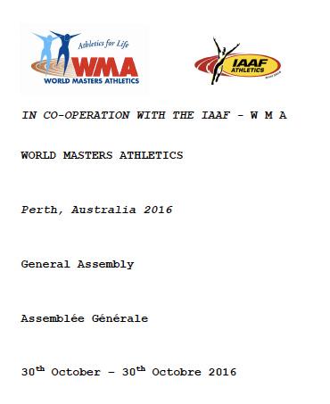 Perth WMA General Assembly handbook (PDF)