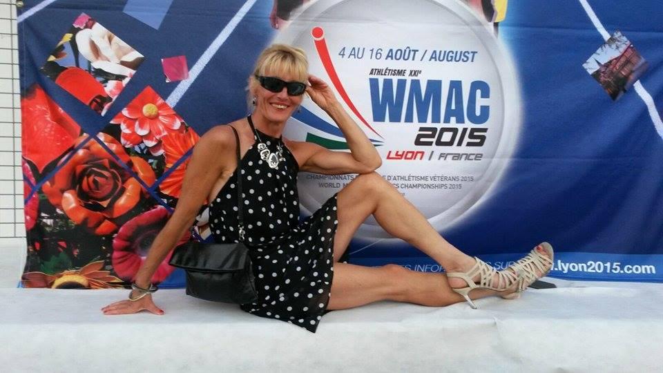 Ramona won the W50 title at Lyon.