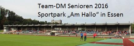 View of German team meet stadium in Essen.