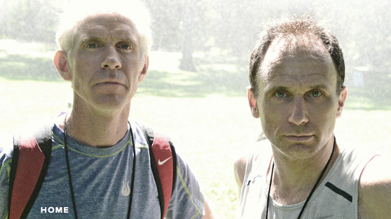 Coaches Tom Nohilly and John Trautmann