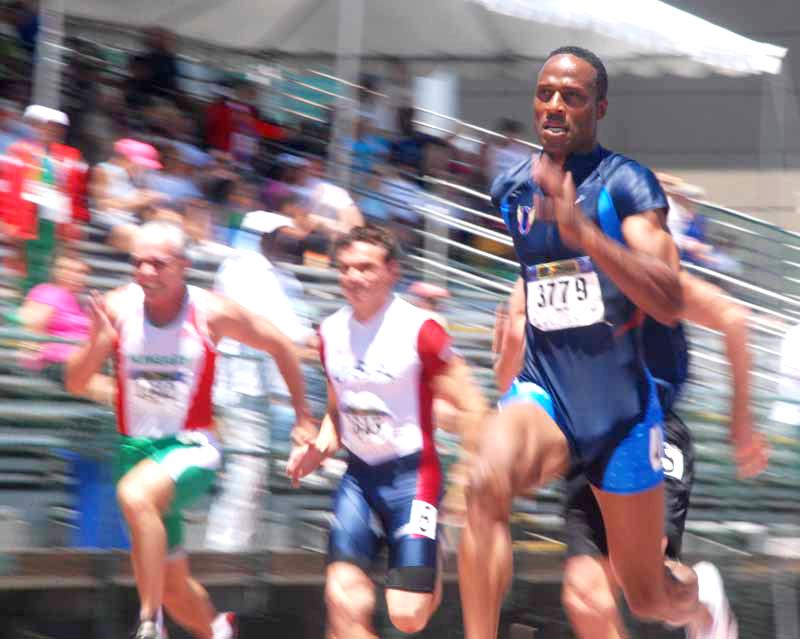 Willie was a blur at 2011 Sacramento worlds.