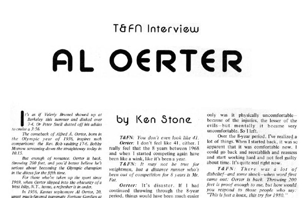 T&FN byline in July 1978