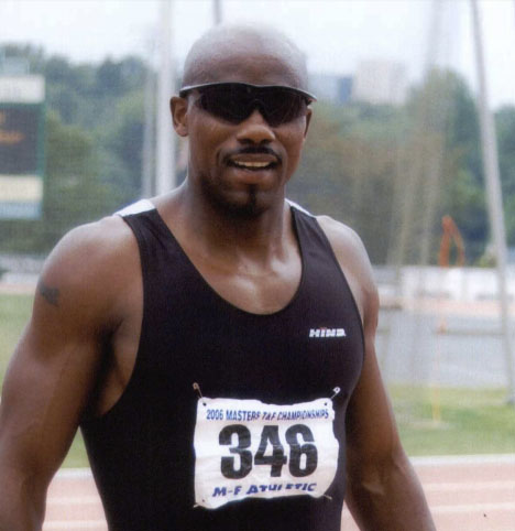 Antwon Dussett was only 30 in 2006, when he won the 200 and 400 at Charlotte nationals.