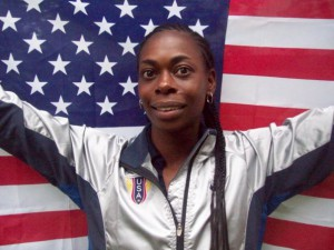 LaTrica Dendy is a favorite in the women's 300.