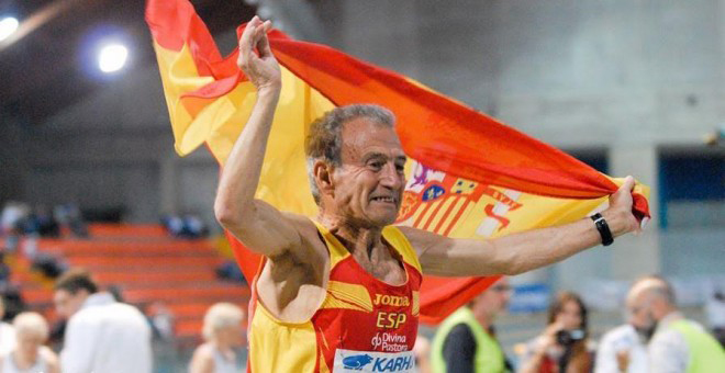 Manuel Alonso Domingo is the new king of M80 metric milers.
