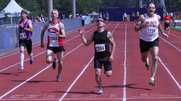 Not sure which age group this is, but Shaggy's shot of tight finish should give short runners hope.