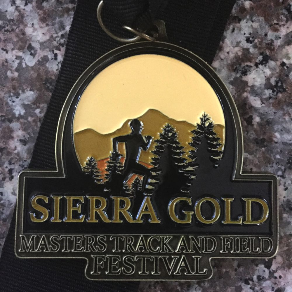 Sierra Gold, Silver and Bronze in one cool medal.