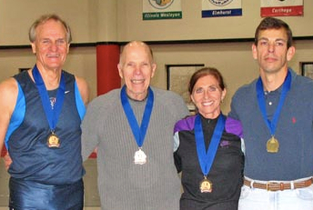Bob is second from left after Emil Pawlik and next to Phil Raschker and Bill Murray at 2010 Kenosha nationals.