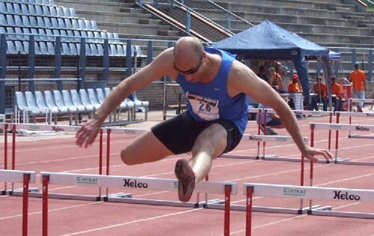 Shaun runs 39-inch hurdles. His PR at 42-inch hurdles is 13.26.