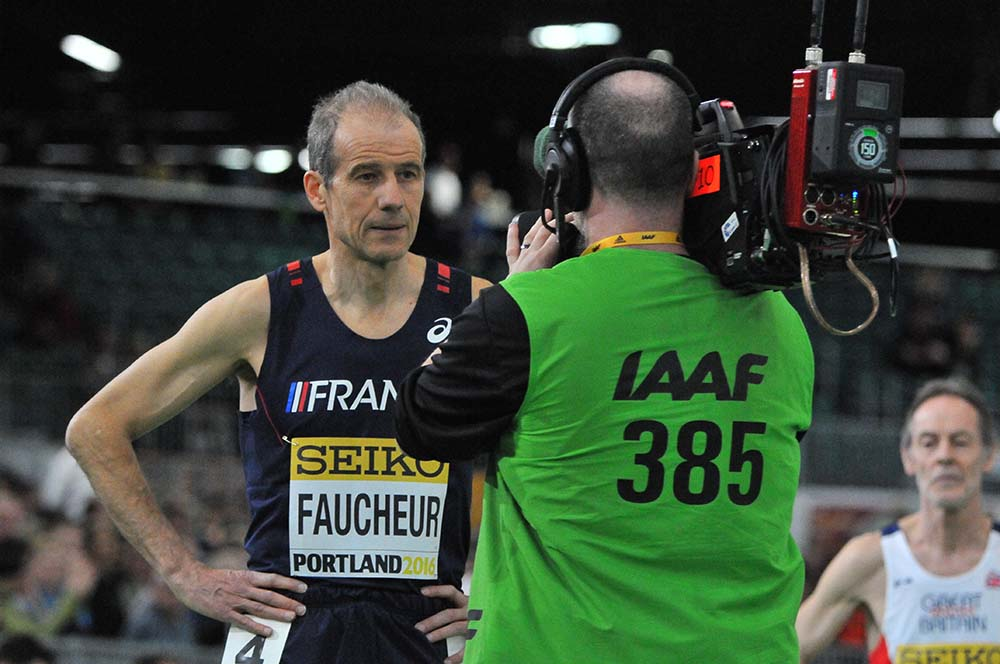 Pierre Faucheur of France took 4th in 2:18.23.