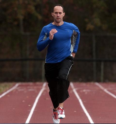 Lawyer Jason Lattimore is living his track dream.