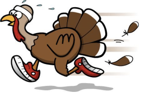 Turkeys have track challenges, just like us.