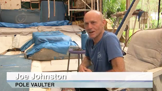 Joe Johnston shows off Joe Dome in latest video.
