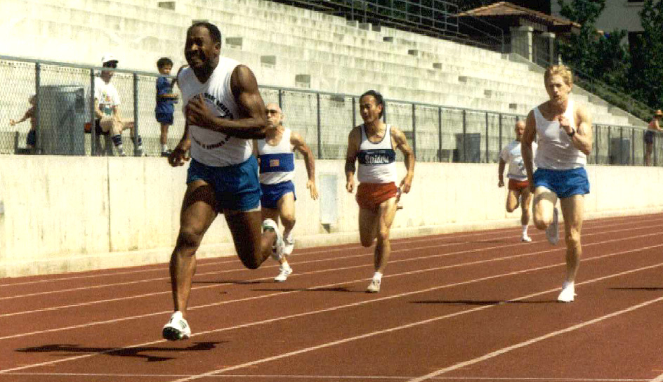 The great Walt Butler leads a race in one of the photo PDFs coming to SmugMug.